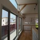 萩野正明の住宅事例「『八幡の家』シンプルナチュラルな住まい」