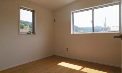 シンプルナチュラルな寝室 『八幡の家』シンプルナチュラルな住まい