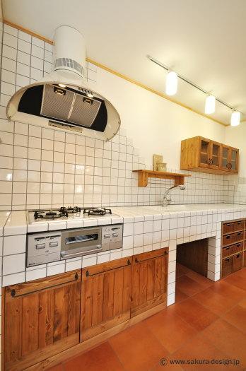 """『こだわりキッチンの家』""""大人""""と""""可愛い""""が散りばめられた住まいの部屋 こだわりキッチン"""