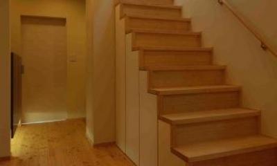 廊下・階段|『今沢の家』自然素材のナチュラルな住まい