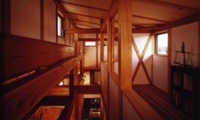 『薪塀の家』工夫一杯のローコスト4世代住宅