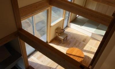 『舞台のある家』変化を楽しめる木の家
