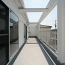 田崎修一の住宅事例「『キュービック・デッキ』リゾート風住宅にダイナミックリフォーム」