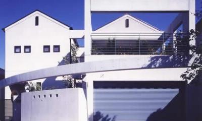 『成井邸』見晴らしの良い二世帯住宅 (成井邸-外観)