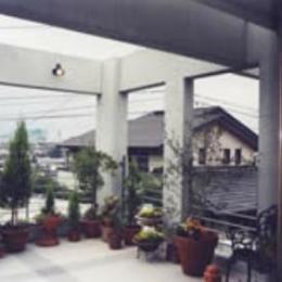 『成井邸』見晴らしの良い二世帯住宅 (2階西側テラス)