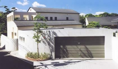 『内田邸』柔らかな印象のコンクリート造住宅 (柔らかな印象のコンクリート造住宅)