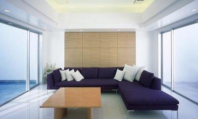 『S邸』非日常空間を楽しめる高級リゾートホテルのような家