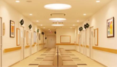 『小倉南メディカル病院・小倉南ヴィラガーデン』の部屋 病院-廊下