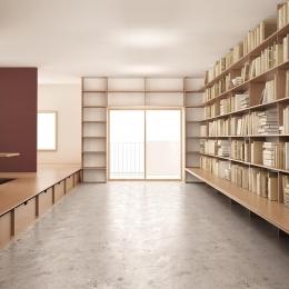 『artreno project』図書館のある住まい (図書館のある住まい)