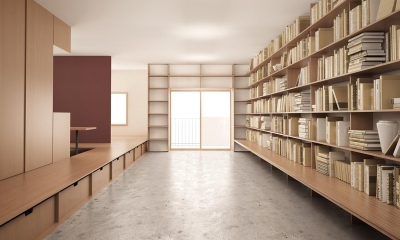 『artreno project』図書館のある住まい