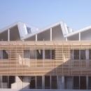 『monte』木×コンクリートのスタイリッシュな集合住宅