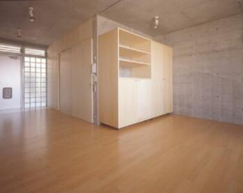 『monte』木×コンクリートのスタイリッシュな集合住宅 (room1-LDK)