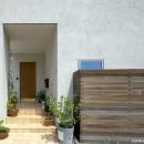 河崎寛史の住宅事例「住宅作品3・庭と一体!家族の成長を見守る住まい」