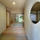 開放的な玄関ホール