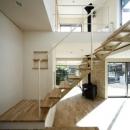 林雅子の住宅事例「『樟葉美咲の家』屋上緑化と趣味の家」
