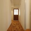 リビングにつながる廊下