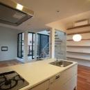 贄田健一の住宅事例「『U邸』階段がつなぐ家」