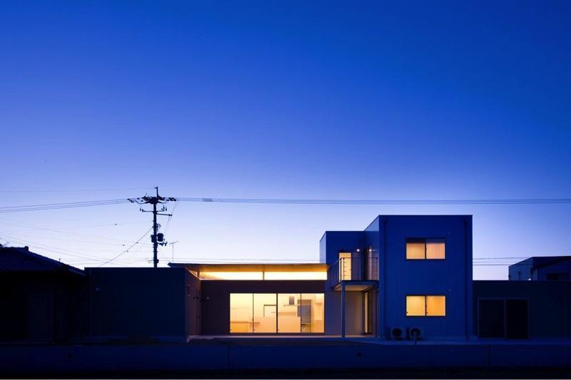 『K3-House』ペットと共に生き生きと暮らす住まいの写真 外観夜景