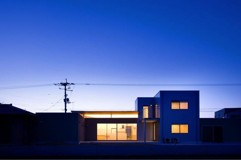 『K3-House』ペットと共に生き生きと暮らす住まいの部屋 外観夜景