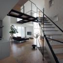 桑原茂の住宅事例「『三叉の家』生活スタイルに合った多彩な暮らしを演出する住まい」