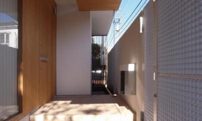 中井の家 (玄関)