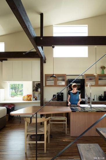 建築家:花田 順「『囲い庭の庵』秋田市に建つ都市型中庭住宅」