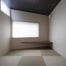 花田 順+花田 直子の住宅事例「『牛島の二世帯住宅2 』2階をワンルームとする大胆なプラン」