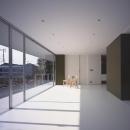 小泉一斉+千葉万由子の住宅事例「『コンセント』空間を最大限確保した廊下がない住まい」