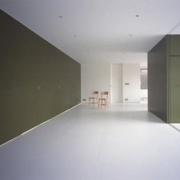 『コンセント』空間を最大限確保した廊下がない住まい