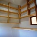 『浮き書斎の家』寝室から独立した斬新な書斎のある家