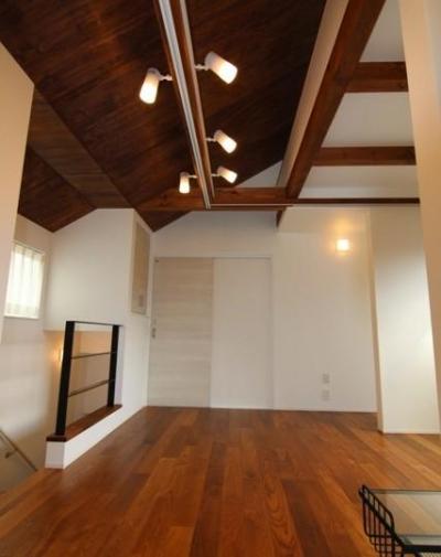 2階サブリビング-2 (『LX2 house』2つのリビングがある共働き・子育て世帯の理想の家)