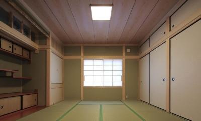 和室|『TOMOIKI NO IE』こだわりいっぱい、和モダンな住宅