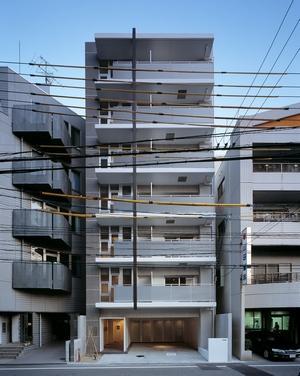 『Liverty Misasa』狭小地に建つデザイナーズマンションの部屋 狭小地に建つマンション-外観
