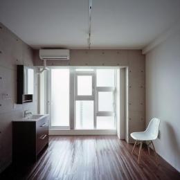 『Liverty Misasa』狭小地に建つデザイナーズマンション (type a a'-大きな採光窓)