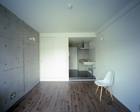 『Liverty Misasa』狭小地に建つデザイナーズマンションの部屋 type a a'-ワンルーム