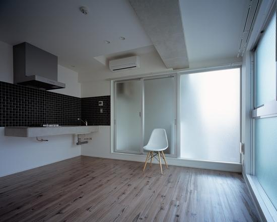 『Liverty Misasa』狭小地に建つデザイナーズマンションの部屋 type c- LDK