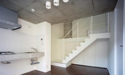 『Liverty Misasa』狭小地に建つデザイナーズマンション