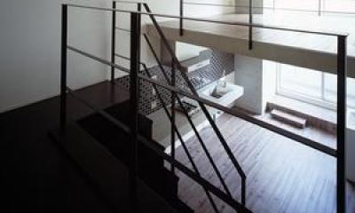『Liverty Misasa』狭小地に建つデザイナーズマンション (type M2-玄関からの眺め)