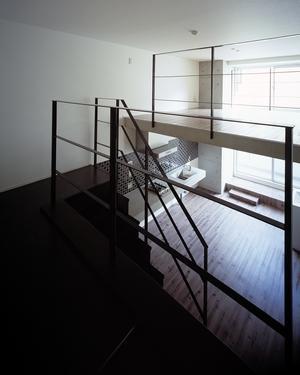 『Liverty Misasa』狭小地に建つデザイナーズマンションの部屋 type M2-玄関からの眺め