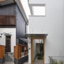 樋口 章の住宅事例「『春風の家』中庭を外玄関に!光を取り込む住まい」