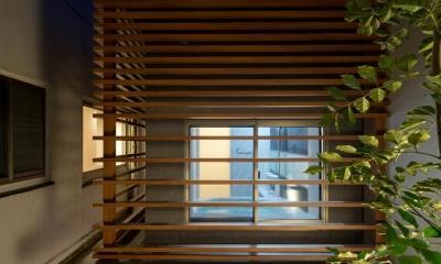 K9-house 「木と光の家」 (風呂)