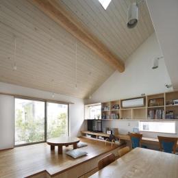 『山手台の家』木の素材感・質量感を生かした和テイストの住まい