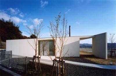 スタイリッシュな平屋-2 (『柳井の家』ロケーションを最大限に生かした住まい)