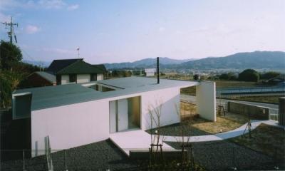 スタイリッシュな平屋-3|『柳井の家』ロケーションを最大限に生かした住まい