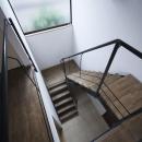 吹き抜けの階段室