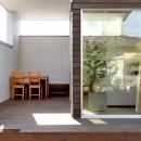 福田康紀の住宅事例「『津幡町の家2』共有庭に面した屋外リビングのある住まい」