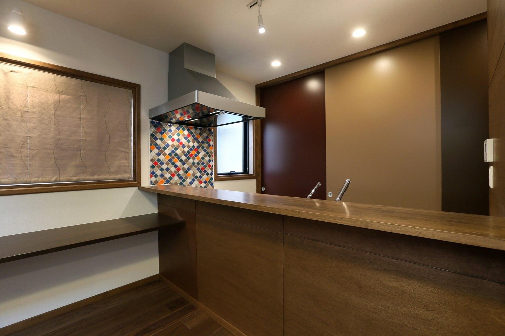 K's residenceの部屋 オリエンタルなキッチン