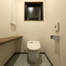 K's residenceの写真 ヘキサタイル床のトイレ