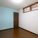 K's residenceの写真 寝室-スカイブルーのアクセントクロス