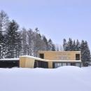 照井康穂の住宅事例「『丘の家』深みのある木目が落ち着いた空間を演出」